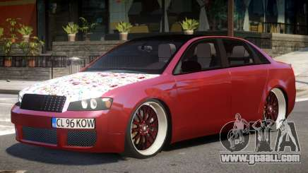 Audi S4 Tuned for GTA 4