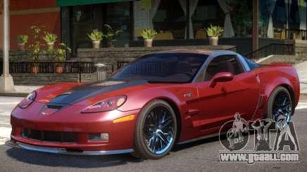 Chevrolet Corvette ZR1 V1.2 for GTA 4