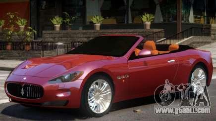 Maserati GranCabrio V1 for GTA 4