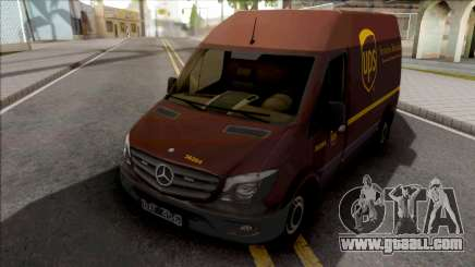 Mercedes-Benz Sprinter Van UPS for GTA San Andreas