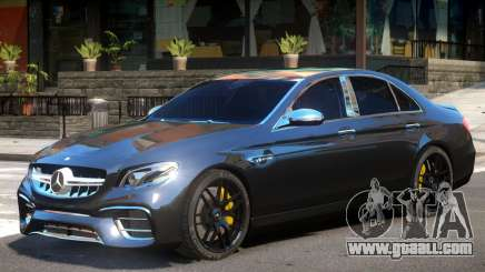Mercedes Benz E63 Upd for GTA 4