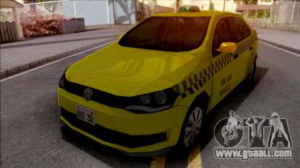 Volkswagen Voyage G6 Taxi JF for GTA San Andreas