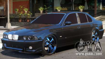 BMW E39 V1.2 for GTA 4