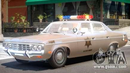 AMC Matador Sheriff V1 for GTA 4