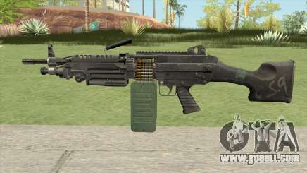M249 SAW for GTA San Andreas
