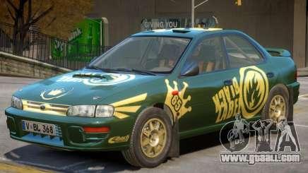 Subaru Impreza Rally Edition V1 PJ2 for GTA 4