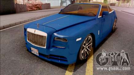 Rolls-Royce Dawn 2019 Low Poly for GTA San Andreas