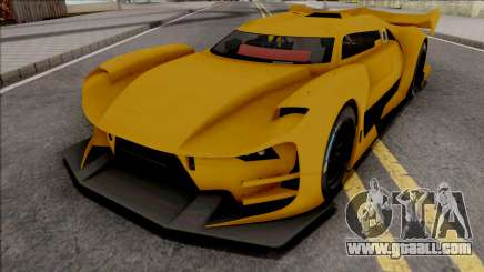 Citroen GT-LM IVF Style for GTA San Andreas