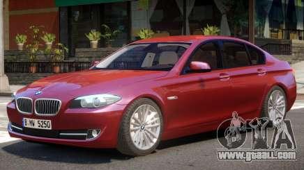 BMW 525 F10 V1 for GTA 4