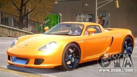 Porsche Carrera GT V1.0 for GTA 4