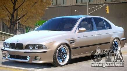 BMW M5 E39 V2.2 for GTA 4