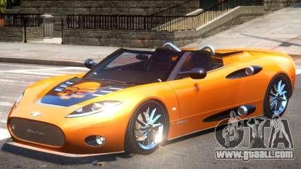 Spyker C8 V1.1 PJ3 for GTA 4