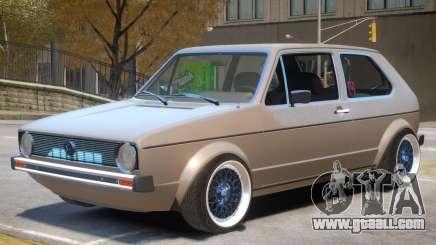 Volkswagen Golf Mk1 Stock for GTA 4
