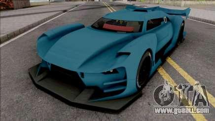 Citroen GT-LM SA Style for GTA San Andreas