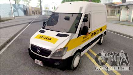 Mercedes-Benz Sprinter 2013 Comum v3 for GTA San Andreas