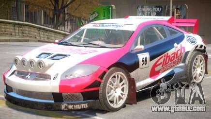 Mitsubishi Eclipse Rally PJ5 for GTA 4