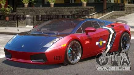 Lambo Gallardo V1.1 PJ3 for GTA 4