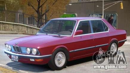 BMW 535 E28 V1.1 for GTA 4