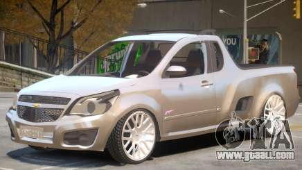 Chevrolet Montana V1 for GTA 4