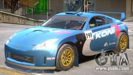 Nissan 350Z Drift V1 PJ7 for GTA 4