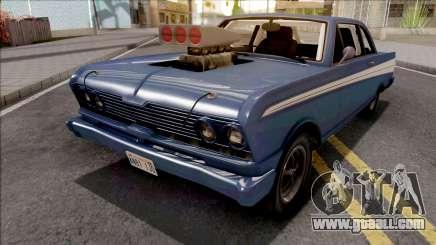 GTA V Vapid Blade Blue for GTA San Andreas