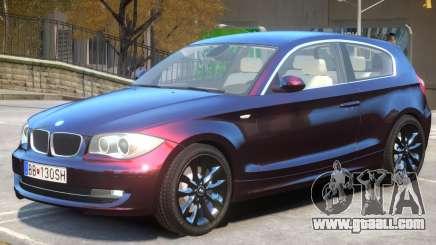 BMW 120i V1 for GTA 4