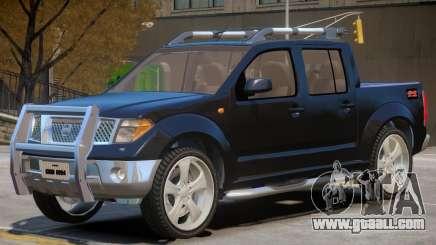 Nissan Frontier V1 for GTA 4