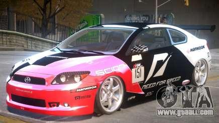 Scion TC V1 PJ1 for GTA 4
