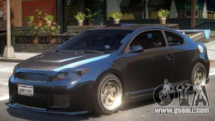 Toyota Scion Tuned for GTA 4