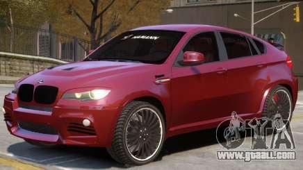 BMW X6 NR for GTA 4