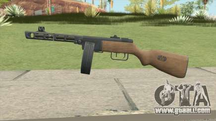 PPSH-41 (A.V.A) for GTA San Andreas