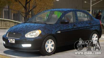 Hyundai Accent Stock for GTA 4
