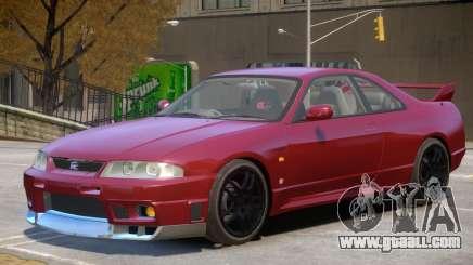 Nissan Skyline R33 V1 for GTA 4