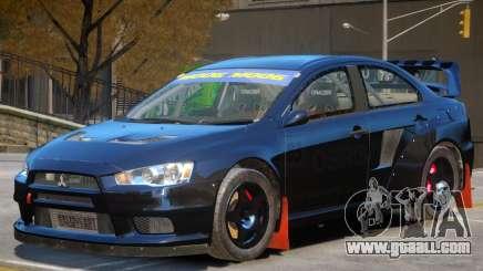 Mitsubishi Lancer Evolution Sport for GTA 4