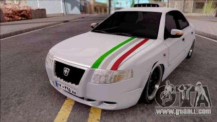 Ikco Samand Soren Sport for GTA San Andreas