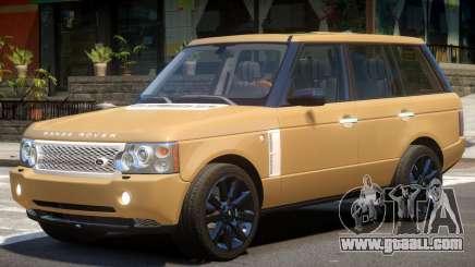 Range Rover Supercharged V1.2 for GTA 4