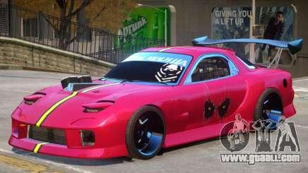 Mazda RX-7 PJ4 for GTA 4