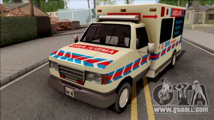 Ambulance Malaysia KKM for GTA San Andreas