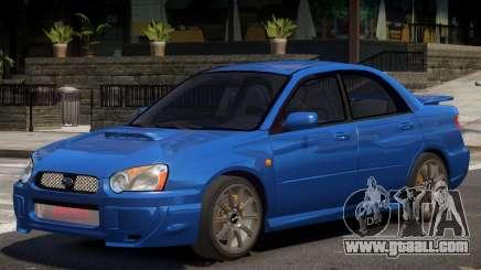 Subaru Impreza WRX Y04 for GTA 4
