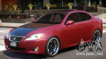 Lexus IS350 R1 for GTA 4