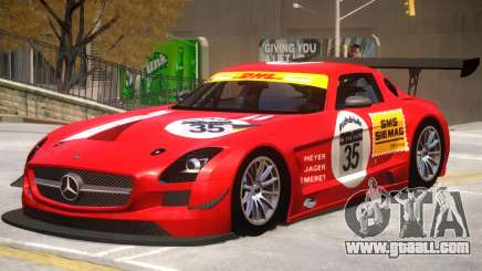 Mercedes Benz SLS GT3 V1 PJ1 for GTA 4