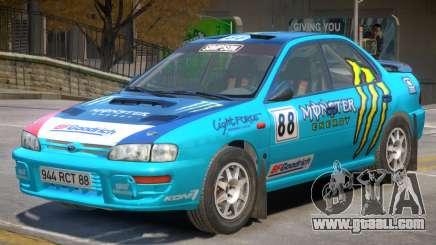 Subaru Impreza Rally Edition V1 PJ4 for GTA 4