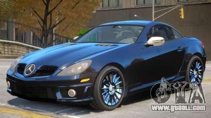 Mercedes Benz SLK 55 V1 for GTA 4