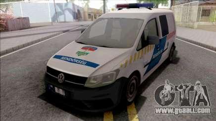 Volkswagen Caddy Magyar Rendorseg for GTA San Andreas
