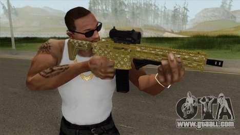 Carbine Rifle GTA V (ILL Cammo) for GTA San Andreas