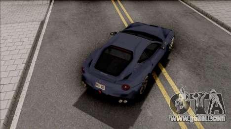 Ferrari F12 Berlinetta 2012 SA Style for GTA San Andreas
