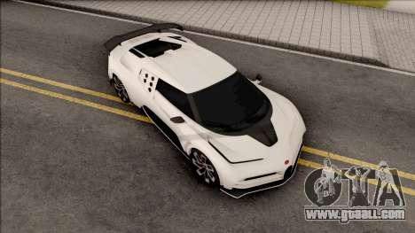 Bugatti Centodieci EB110 2020 Leaderboard for GTA San Andreas
