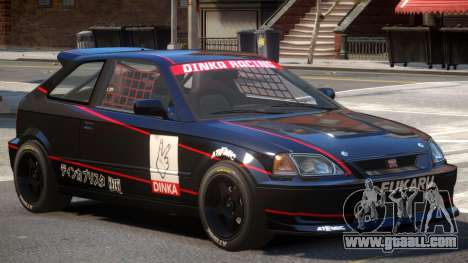 Dinka Blista Compact V1 PJ1 for GTA 4