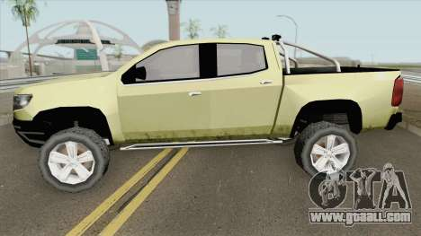 Chevrolet Colorado Z71 2019 for GTA San Andreas