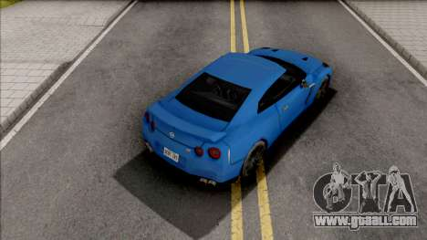Nissan GT-R R35 2016 45th Anniversary SA Style for GTA San Andreas